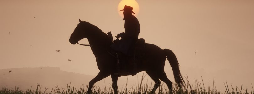 Red dead Redemption 2 Sonnenuntergang