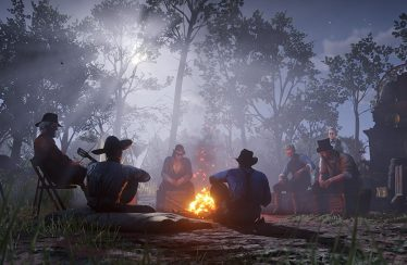 Red Dead Redemption 2 Lagerfeuer