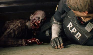 Resident Evil 2 Zombie Attacke