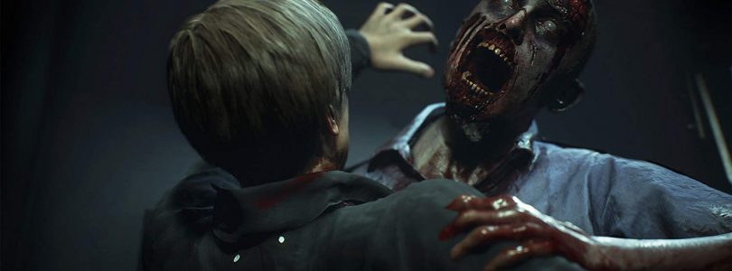 Resident Evil 2 Zombie Angriff