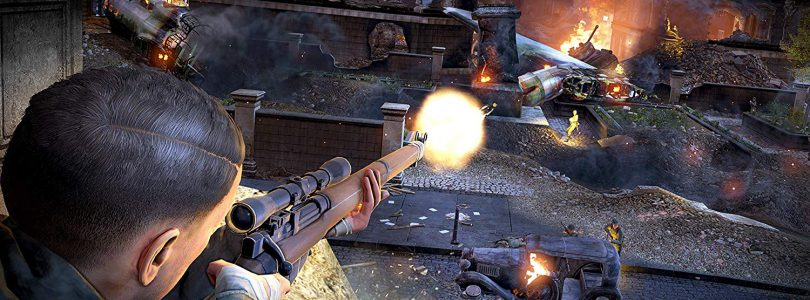 Sniper Elite V2 Remastered Explosion