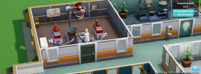 Two Point Hospital – Release der Konsolen Version