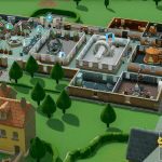 Two Point Hospital Konsole